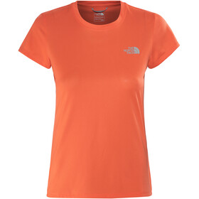 The North Face Reaxion Amp Crew - T-shirt course à pied Femme - orange